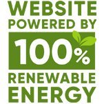 Website Powered By 100% Renewable Energy